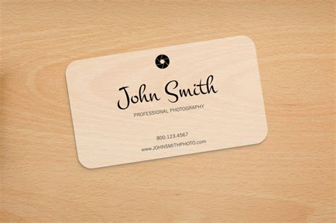 Business Card Template Rounded Corner Psd by Photography Rounded Corners Card Business Card Templates