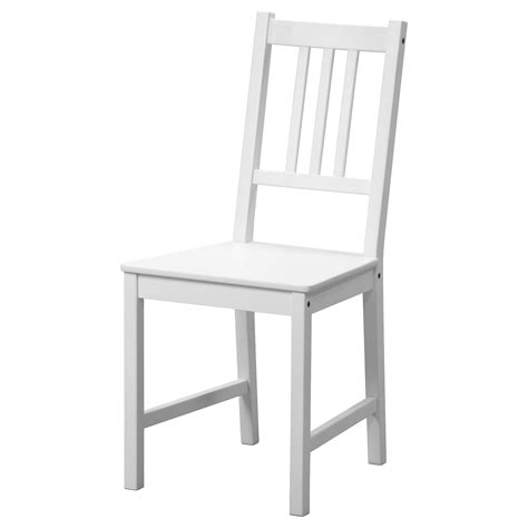 ikea kitchen chairs stefan chair white ikea