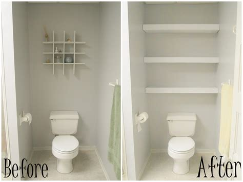 Building A Floating Shelf In Your Toilet Cove Reality Shelves Toilet Bathroom