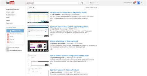 tutorial youtube wordpress opencart tutorial youtube zerotheme