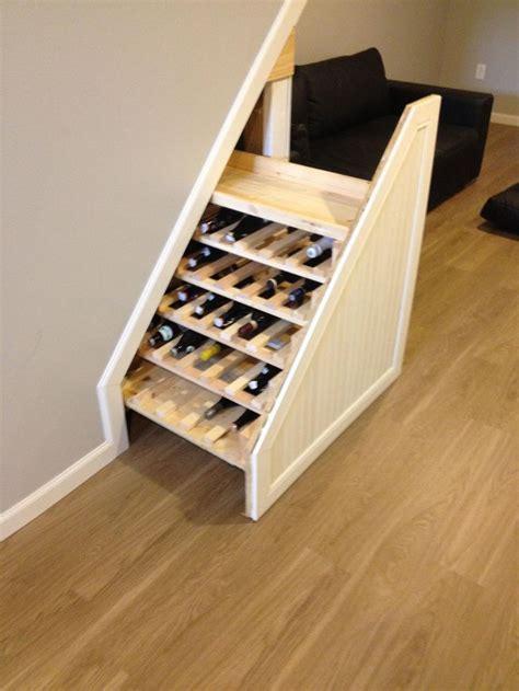 stairs wine storage the 25 best stairs wine cellar ideas on