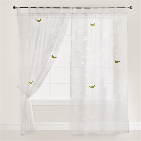 white patterned curtains elegant white patterned curtains homesfeed