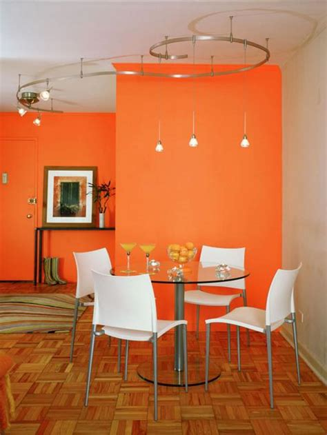 orange dining room modern dining room decorating ideas orange paint colors