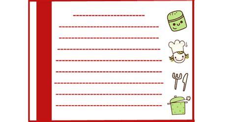 recetas de cocina para imprimir fichas para recetas de cocina imagenes para imprimir