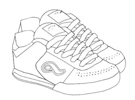 imagenes para colorear tenis como colorear zapatos de deportes deportes para colorear