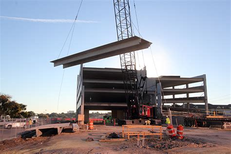 Precast Garage Construction by Press Release Parking Garage For On The Parkway