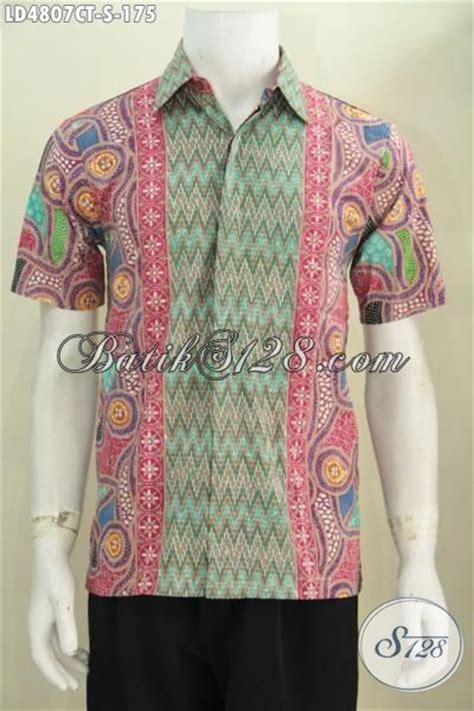 desain baju batik lelaki hem batik pria motif terkini desain berkelas dan mewah