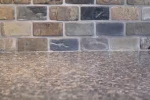 Slate Tile Kitchen Backsplash Small Kitchen Remodel Featuring Slate Tile Backsplash Remodelaholic