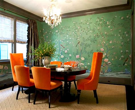 green dining room ideas new interior design trends for 2013
