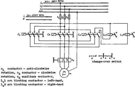 single phase motor reversing contactor wiring 28 images