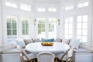 bay window seat kitchen table white pedestal dining table with black dining chairs