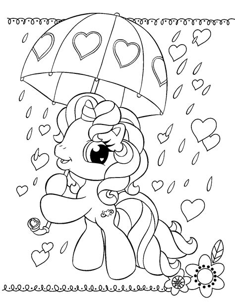 my little pony valentines day coloring pages my little pony color page little pony pinterest pony