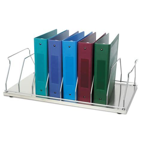 3 Ring Binder Rack table top chart rack 8 space binder storage item