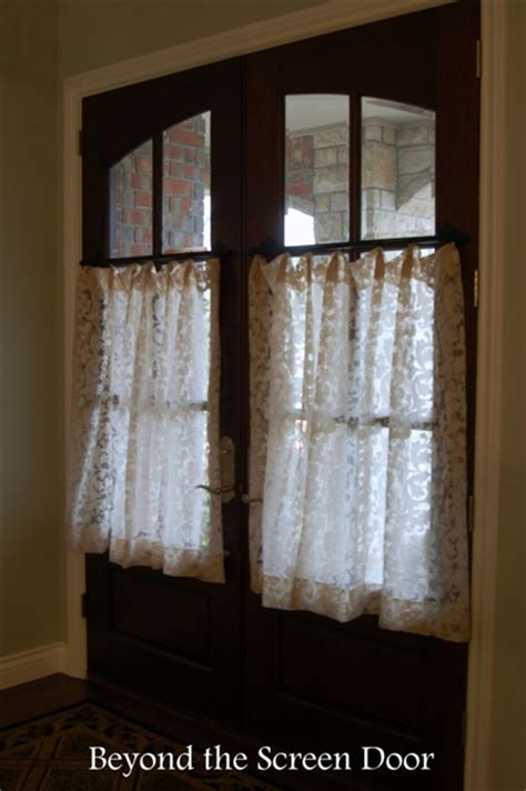 cafe length curtains gallery cafe curtains sill length panels beyond the