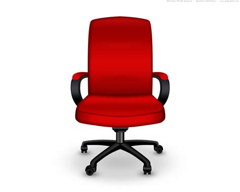 red office desk chair red office chair psd icon psdgraphics