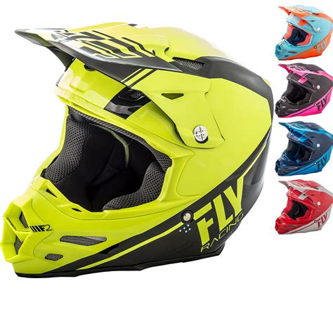 fly racing motocross fly racing 2018 f2 carbon rewire motocross helmet