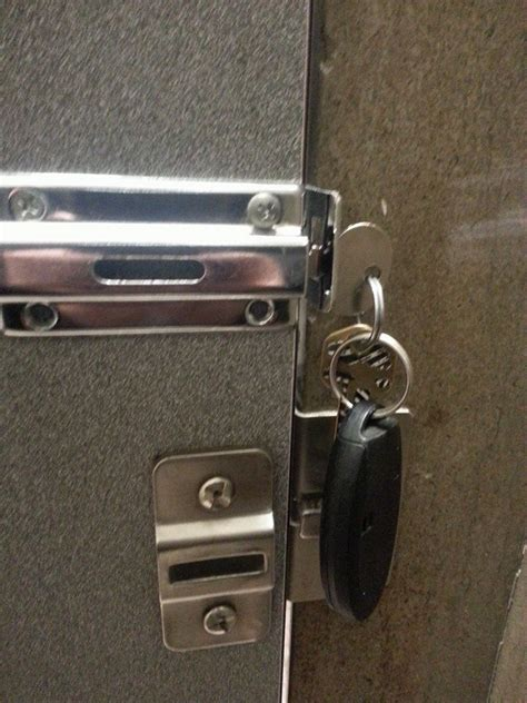 Bathroom Door Won T Lock Bathroom Stall Lock Broken Fixed Lifehacks