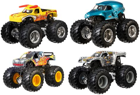 new monster jam mattel wheels monster jam 25 tour favorites new 2017