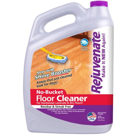 rejuvenate no bucket floor cleaner 128oz gallon at menards 174