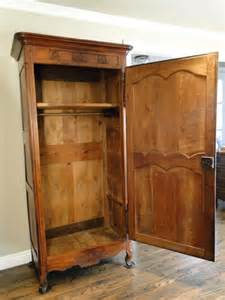 One Door Wardrobe Armoire Antique Country Armoire Wardrobe Closet Provincial