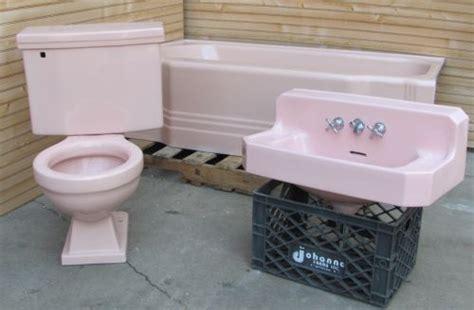 1950 bathroom fixtures 1950 s vintage american standard corallin pink bath