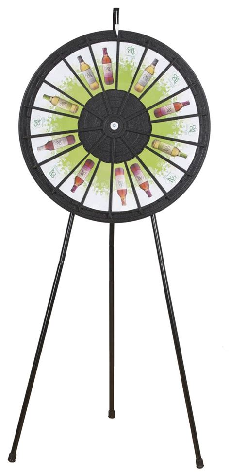 trade show prize wheel giveaway promotion accessories