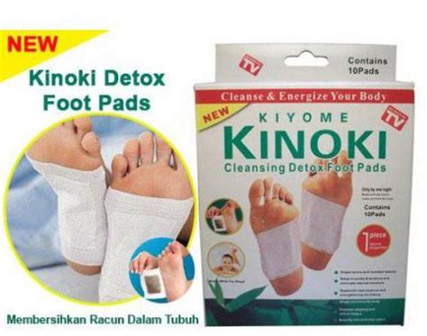 Detox Foot Patch Murah by Kinoki Detox Foot Pads Penyerap Racun Murah