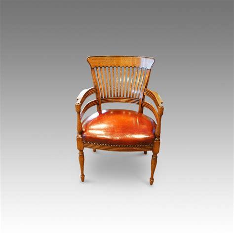 oak desk chair edwardian oak desk chair hingstons antiques dealers