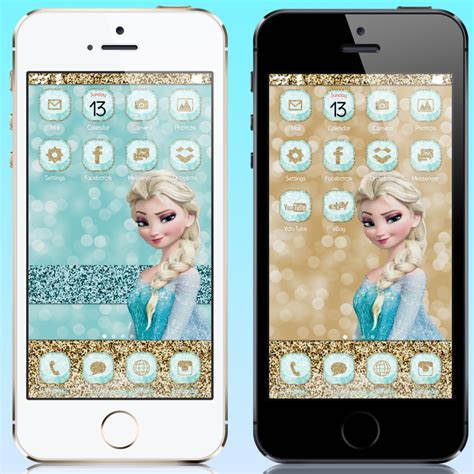 frozen wallpaper for ipod touch pretty iphone themes disney frozen inspired iphone theme