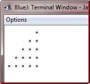 java program to print pyramid pattern of stars and numbers java program to print star pyramid patterns