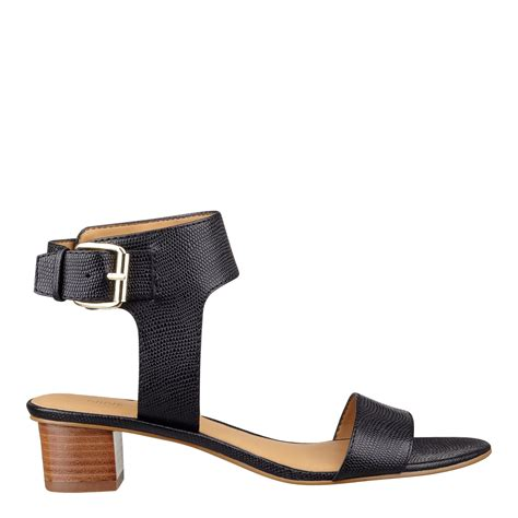nine west sandals lyst nine west opentoe anklestrap sandals sandal