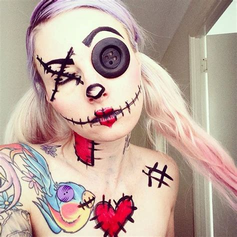 25 Best Ideas About Scary by 25 Best Ideas About Scary Doll Makeup On Doll