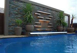 Cool Lighting Ideas pool water features contemporary pool melbourne by