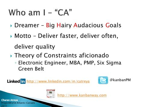 Pmp Vs Mba Vs Six Sigma by Agile Project Management Using Kanban To C