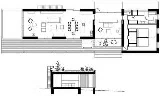 Rectangular House Plans Modern by Weekend House By Marketa Cajthamlova Homedsgn