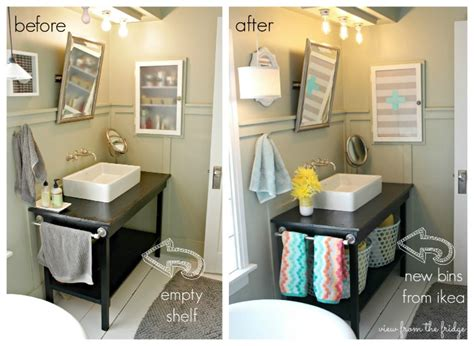 Bathroom Easy Updates Hometalk Colorful And Bright Bathroom Makeover