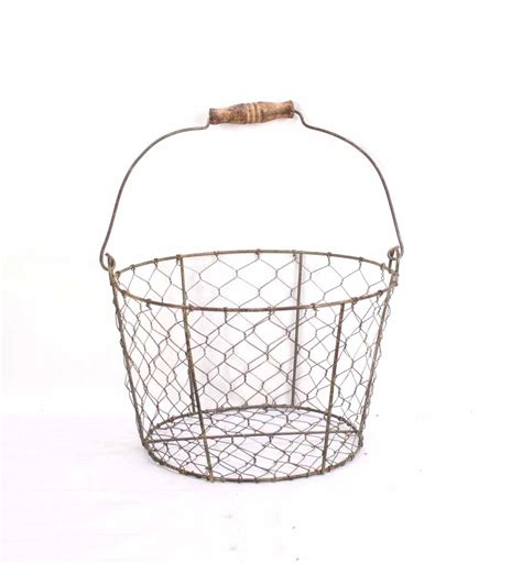 large round swing large round basket with swing handle