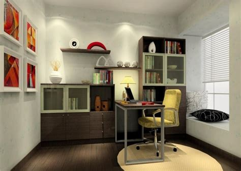 modern study room design 3d house