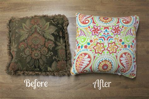 Make A Throw Pillow by Kingsley Corner From Trash To Treasure How To Sew Easy