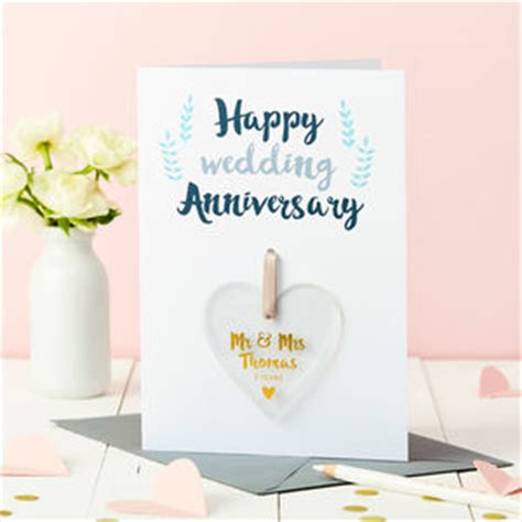 Wedding Anniversary Cards For Nephew by Anniversary Cards Notonthehighstreet