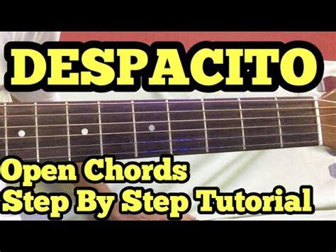 tutorial gitar despacito chord gitar despacito buzzpls com