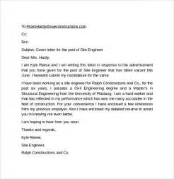 Cover Letter Exle Via Email Email Cover Letter Exle 10 Free Documents In Pdf Word