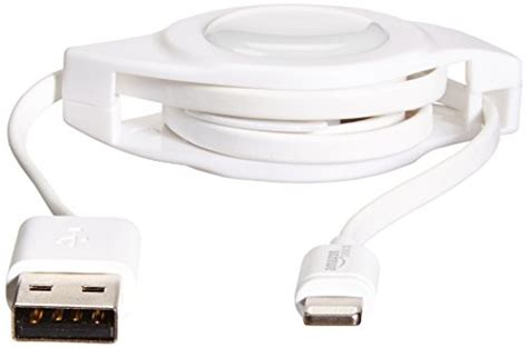 Amazonbasics Cable Retractable by Amazonbasics Apple Certified Retractable Lightning To Usb Import It All