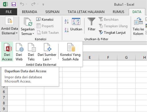 membuat sistem informasi data base kepegawaian dengan excel tutorial mengimpor data ke excel dan membuat model data