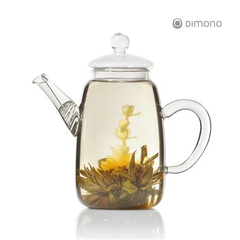 design teekanne teekanne teepot aus glas mit teesieb 600ml