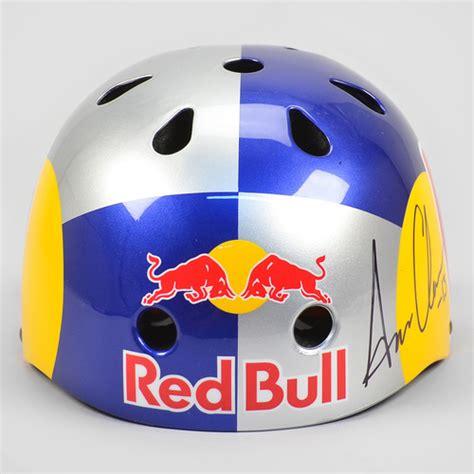 Helmat Redbull Blue Casco Equipo Firmado Sixsixone Bull Aaron
