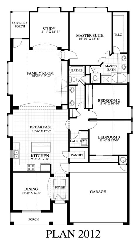 plan 2012c saratoga homes