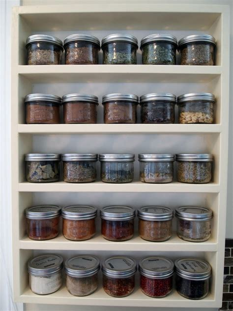 Spice Jar Storage Looking For Affordable Ideas For Jars For The Kitchen