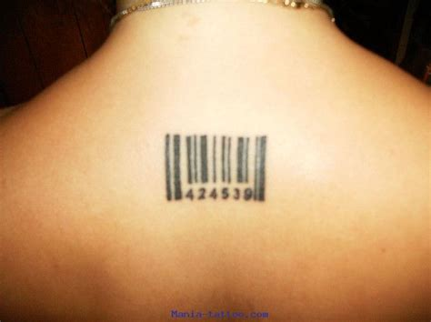 barcode tattoo age appropriate pin tatouage sunn ange aile tatouages fr com pl on pinterest