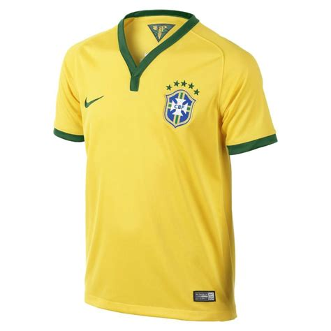 Jersey Brazil Home Ls 2014 new brazil 2014 world cup nation home yellow soccer jersey thailand trading